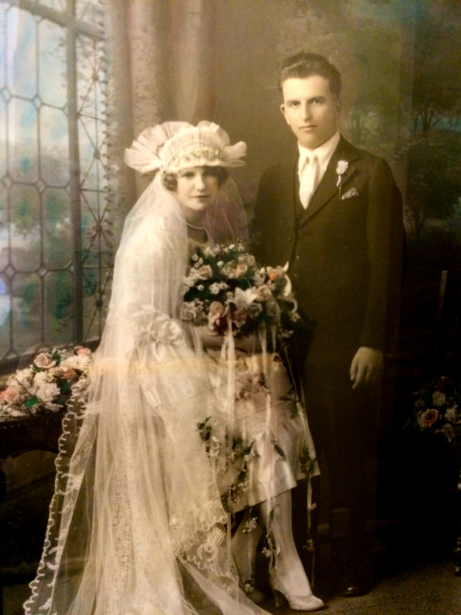 Mr and Mrs John Turk, Jeannie's Paternal Grandparents