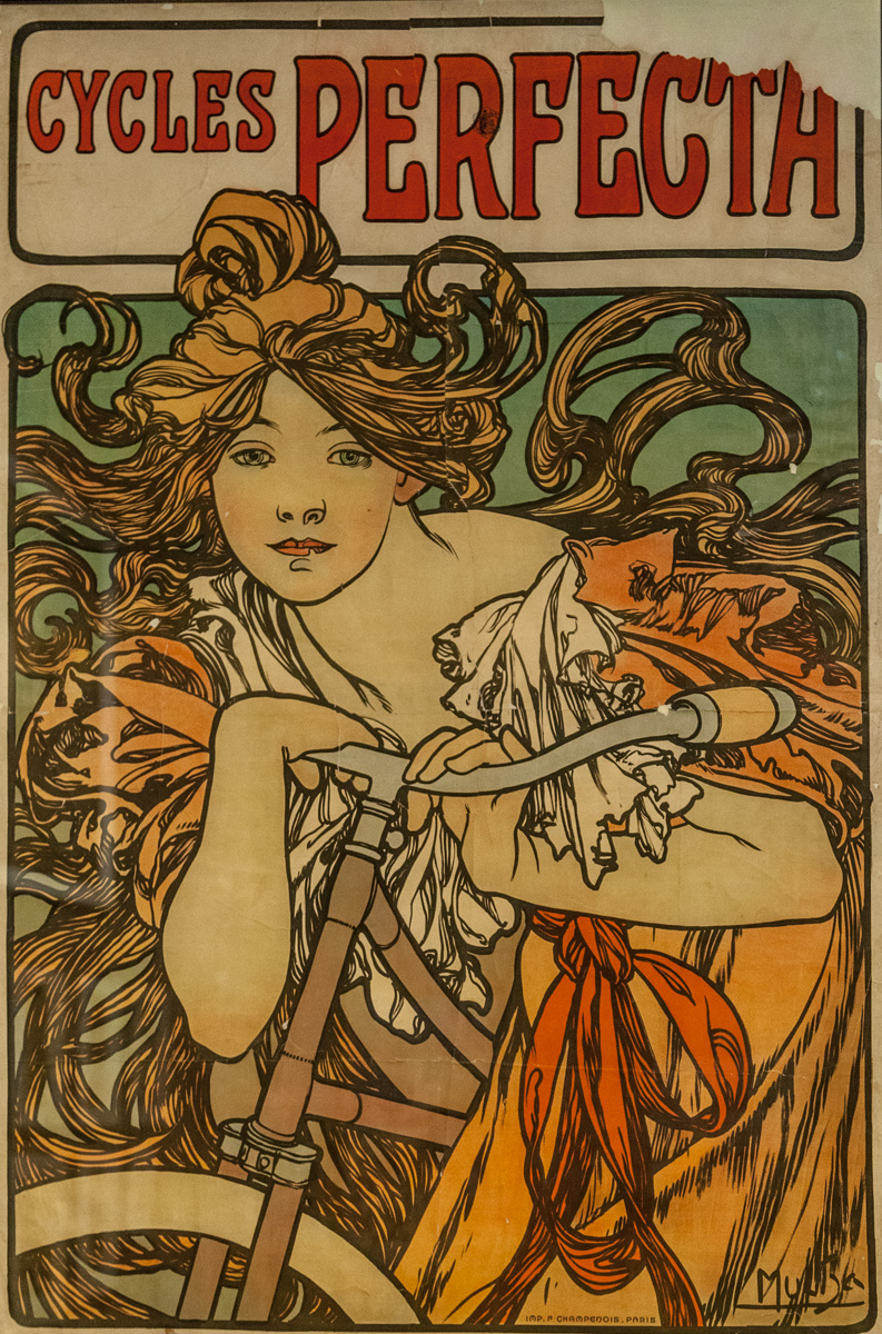 The Czech illustrator Mucha is a well known Art Nouveau artist