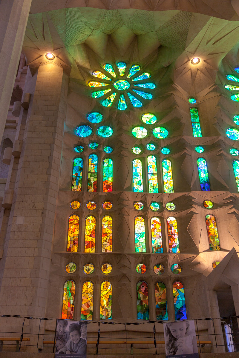 Sagrada Família - Stained glass - 2298