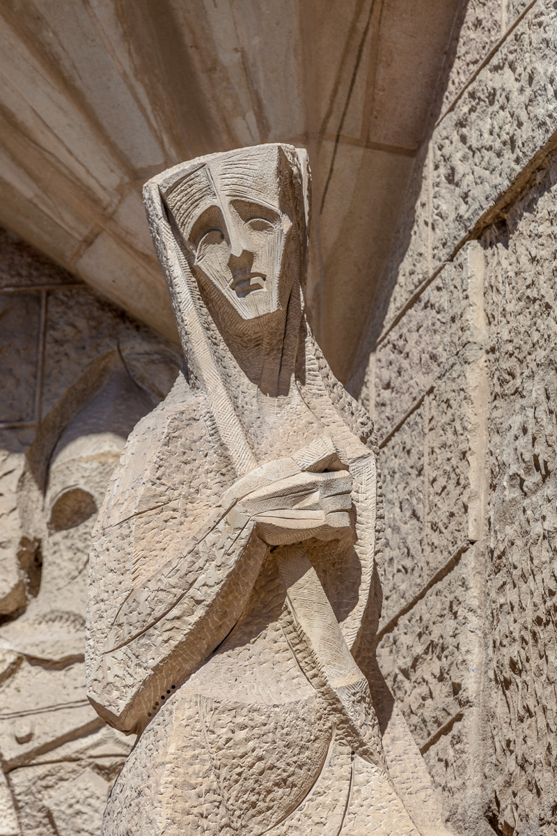 Sagrada Família - Exterior details - 2329