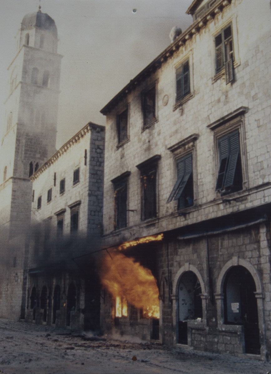 Destruction from the shelling during the siege on Dubrovnik. - WCF-2873.jpg
