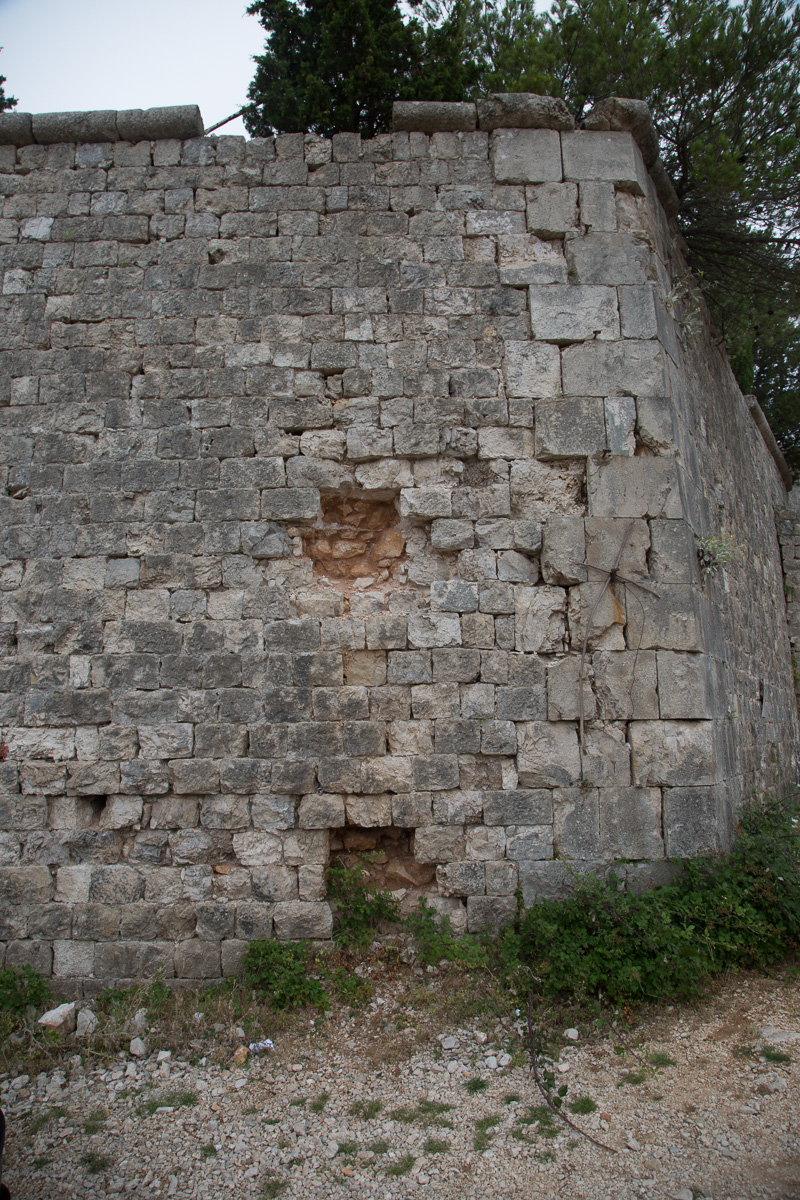 Arterillary damage to Fort Imperial. - WCF-2888.jpg
