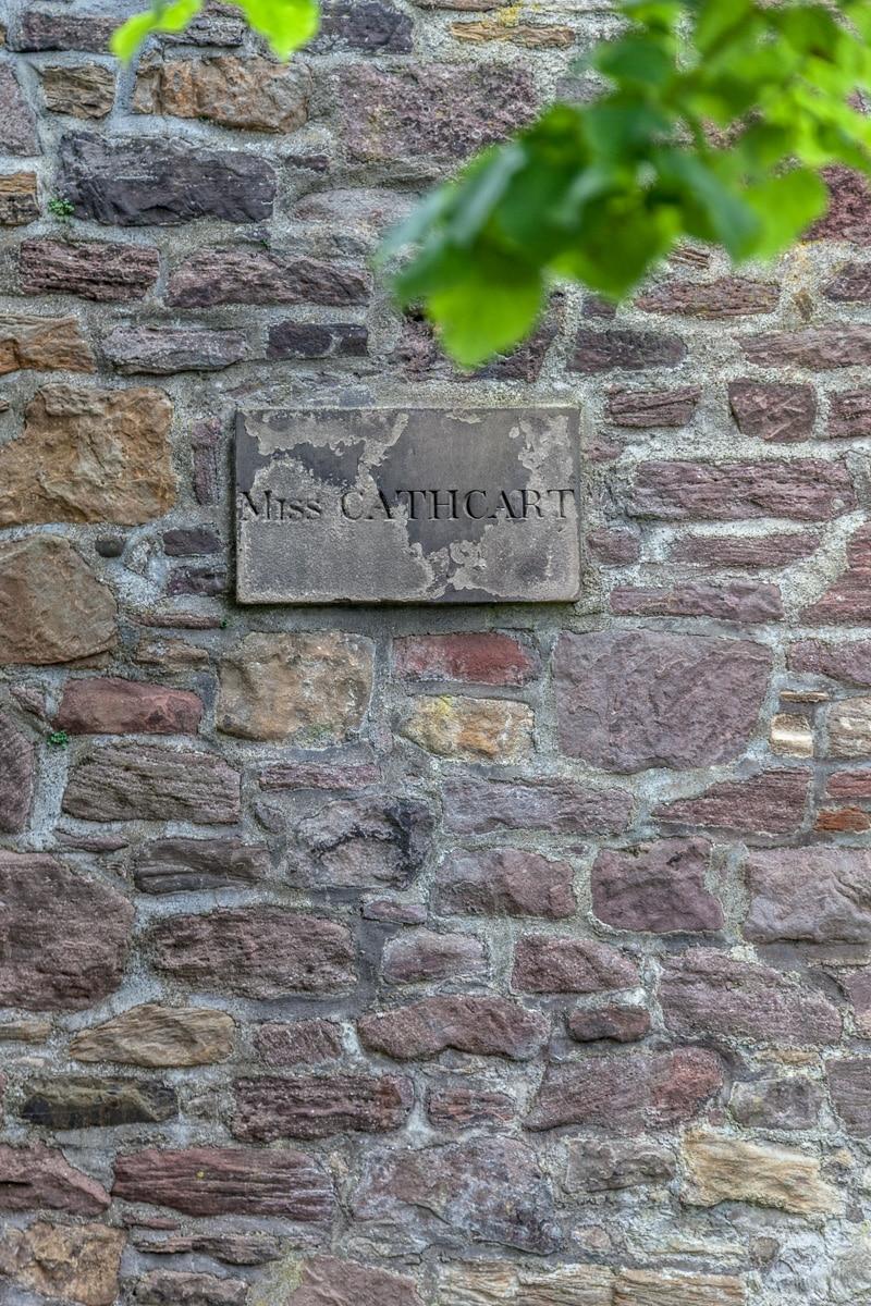 Miss Cathcart's Grave marker <br>in Greyfriars Kirkyard - WCF-7638.jpg