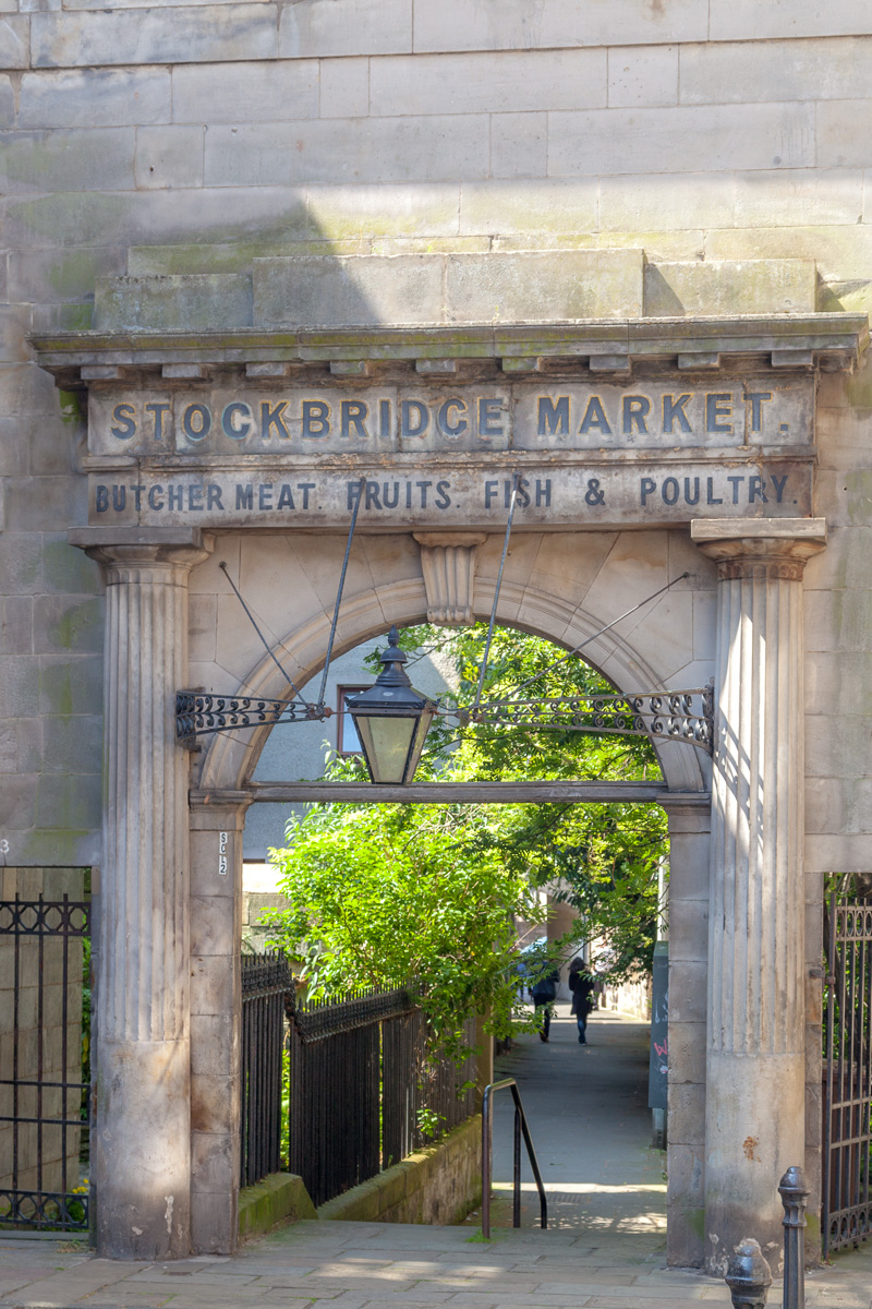 Arch of the old entrance to the Stockbridge market - WCF-5428.jpg