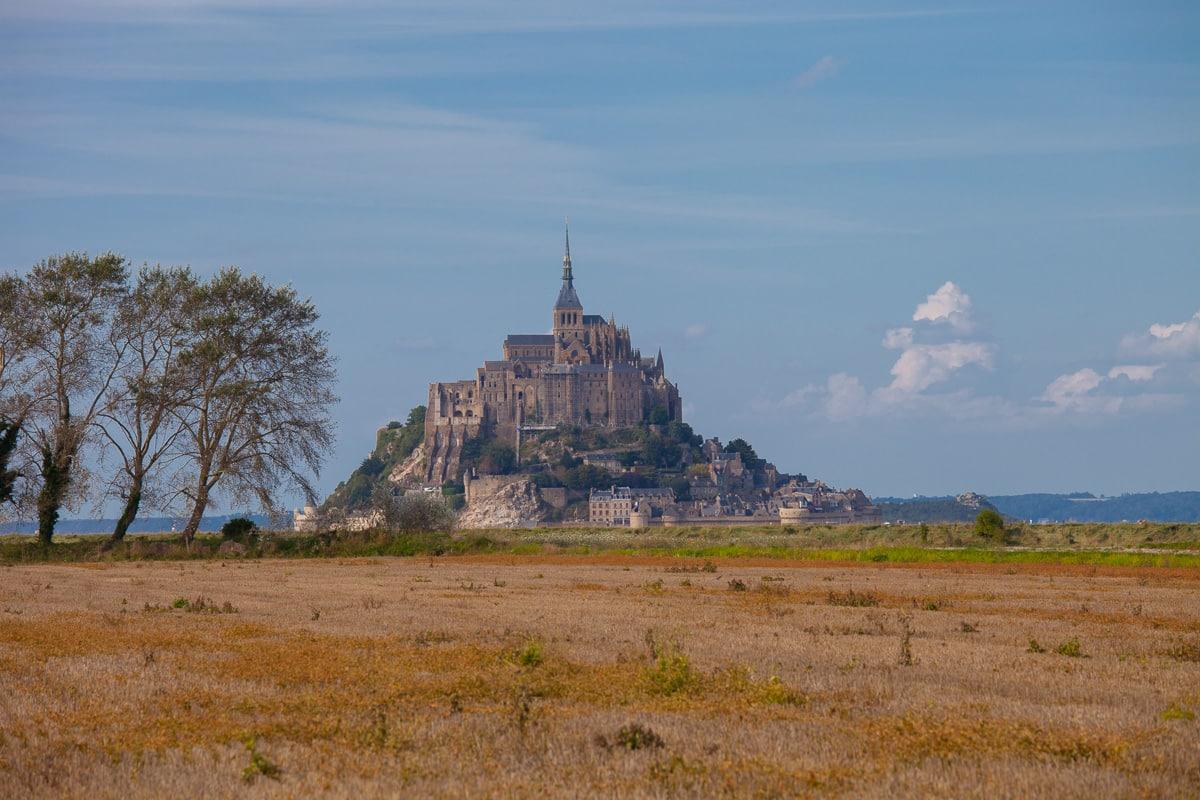 A Setback at Mont Saint Michel