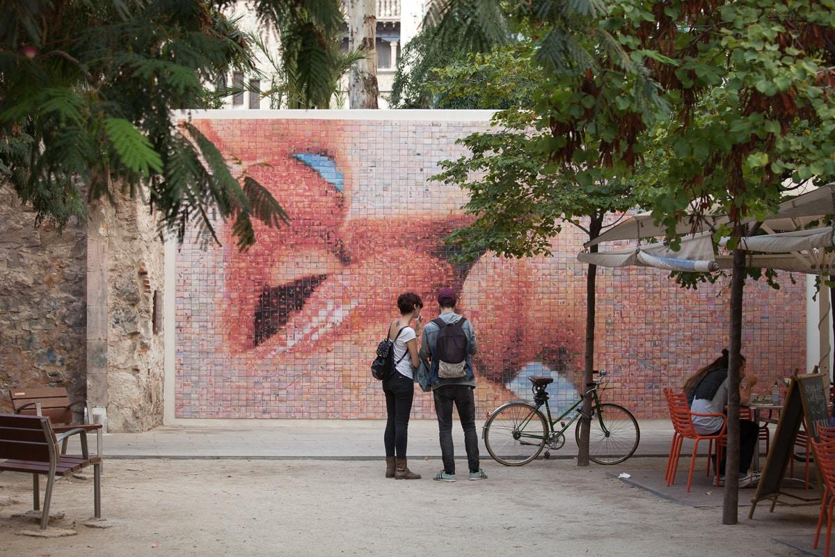 A Kiss in Barcelona