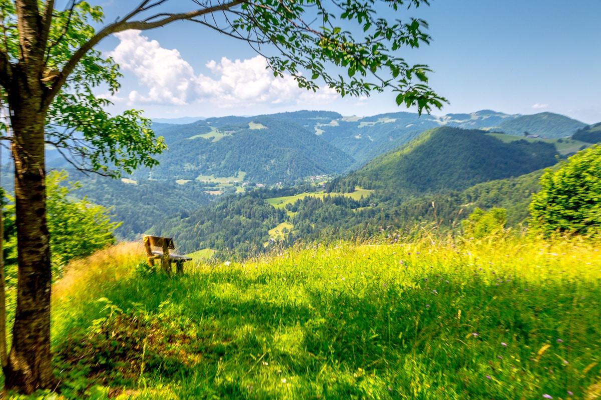 Pohod v Slovenijo – Walking in Slovenia